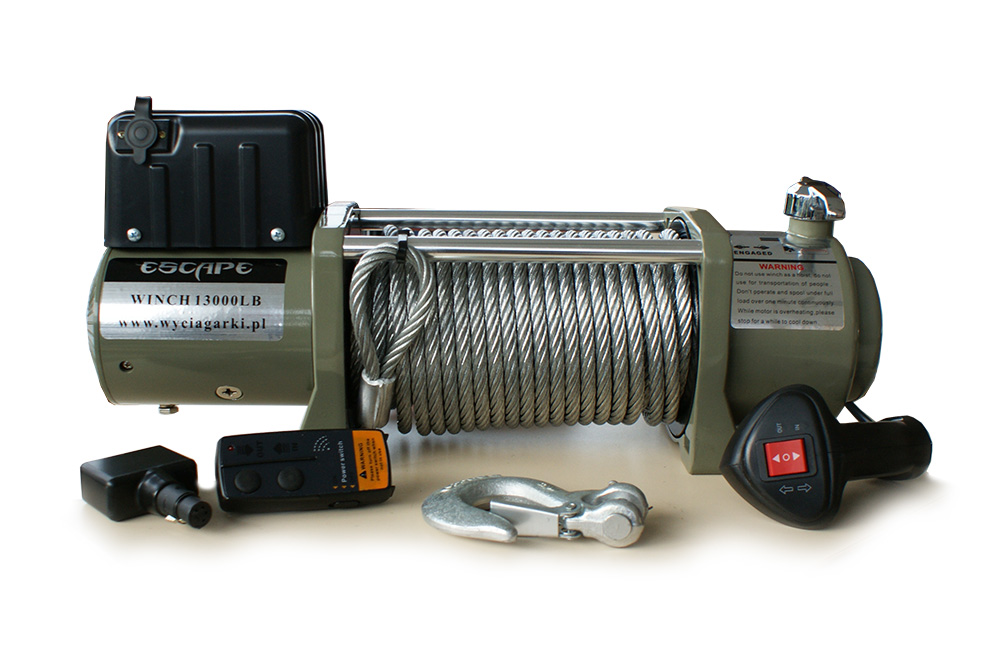 Winch Escape 13000 Lbs 5897 Kg 12v Escape4x4 Eu