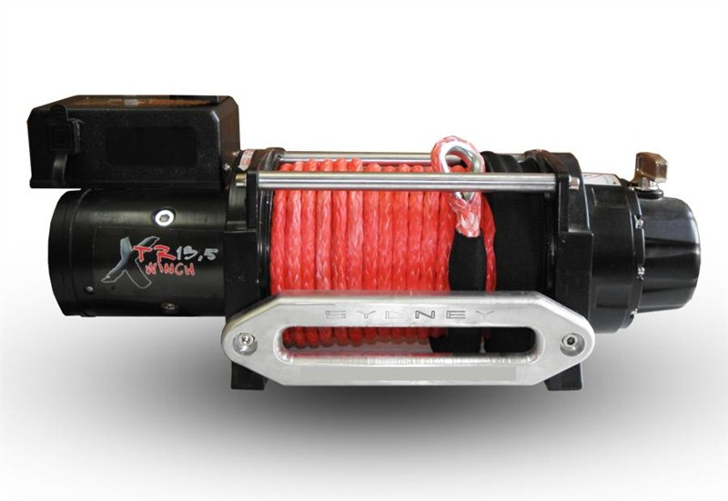 Winch Xtr 13500 Lbs 6130 Kg 24v Speed Synthetic Rope
