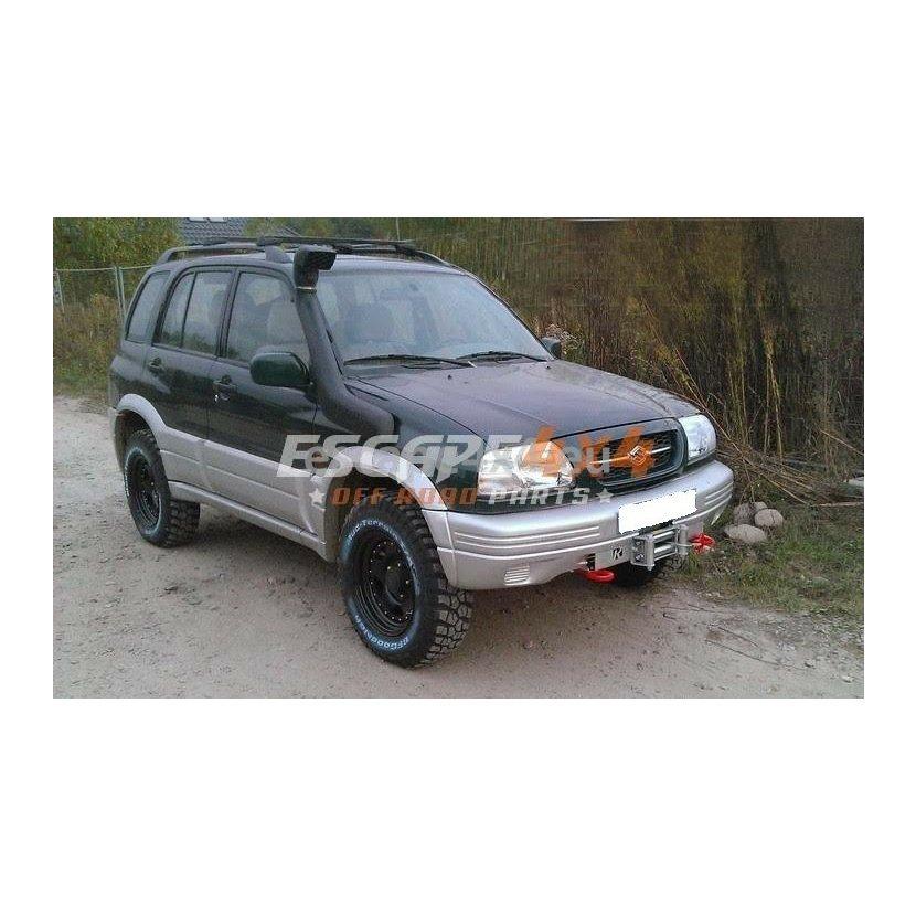 Winch Mounting Plate in Original Bumper Suzuki Grand Vitara