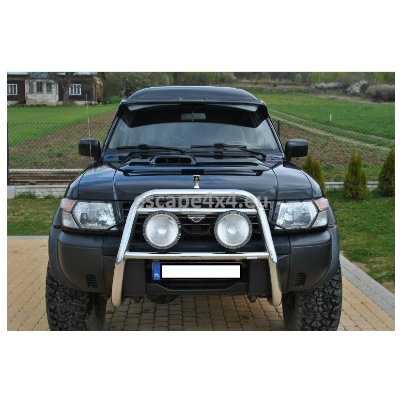 Laminate Sunvisor Nissan Patrol Y61   Escape4x4 eu Offroad