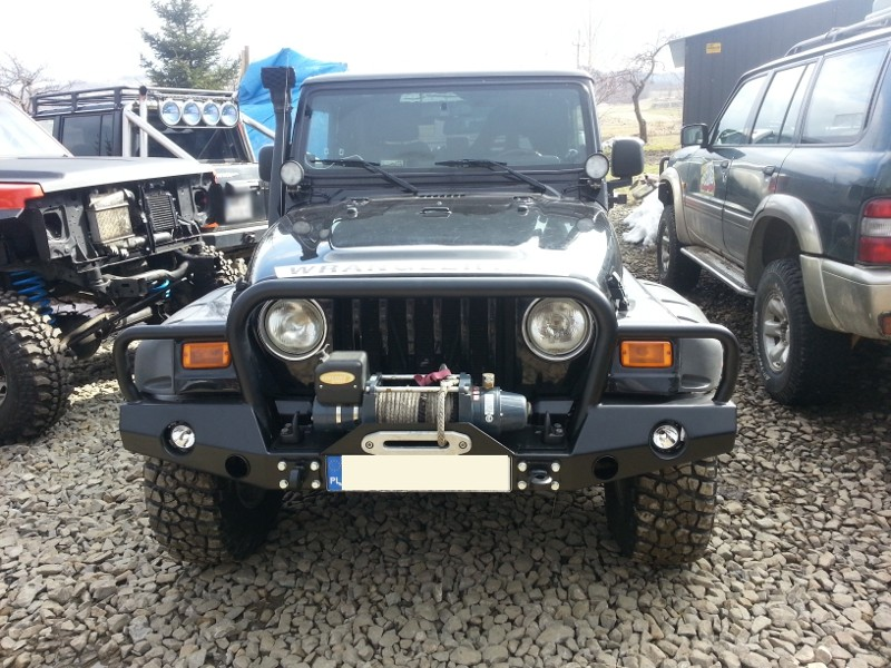 Front Bumper Bar Escape Jeep Wrangler TJ (97 07)