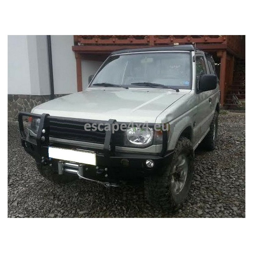 Front Bumper Bar Mitsubishi Pajero II (91-02) | Escape4x4 eu Offroad  Equipment And Accessories