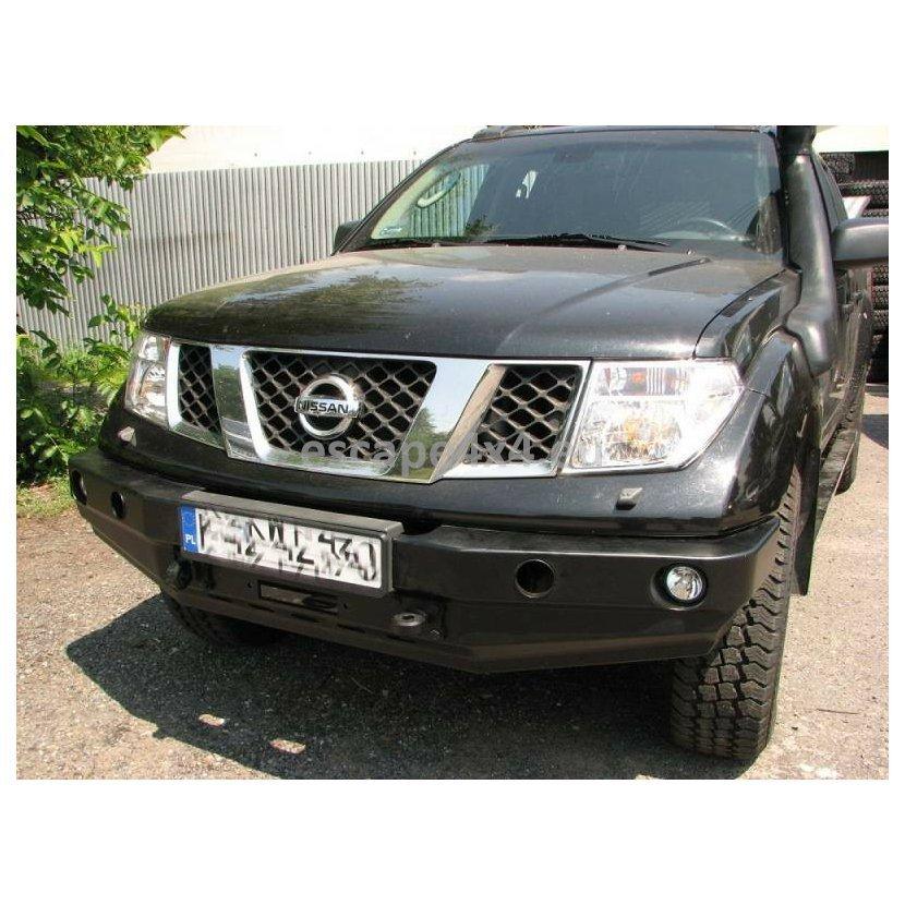 Front Bumper Bar Nissan Navara D40 (05-) | Escape4x4 eu Offroad Equipment  And Accessories