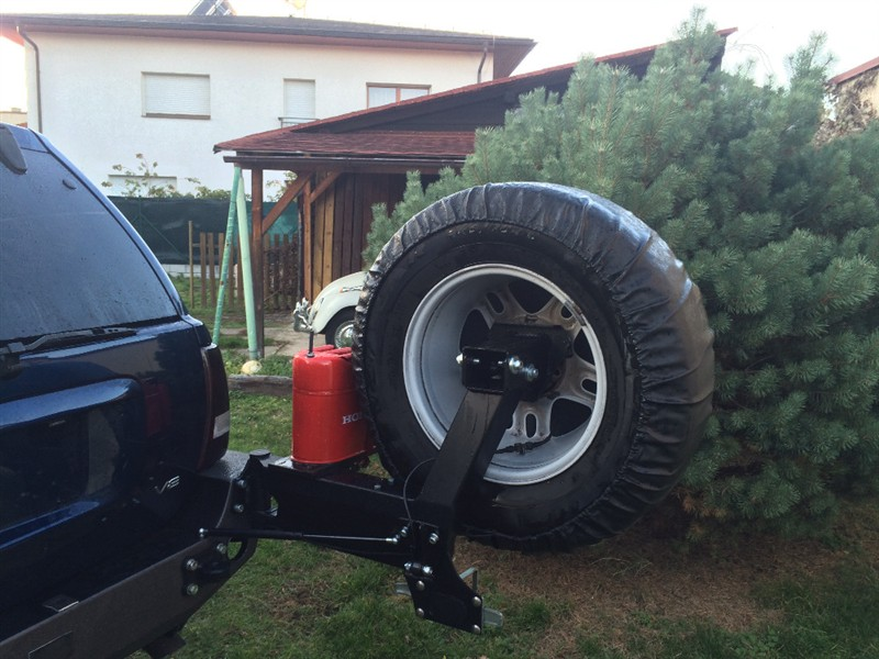 Spare Wheel Holder Jeep Grand Cherokee Wj 98 04