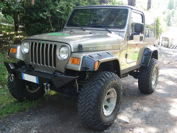 Front Bumper Bar Rock´s Jeep Wrangler TJ