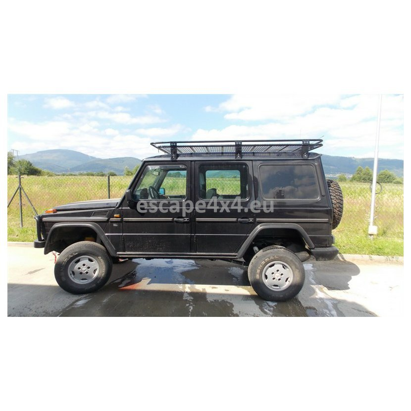 Expedition Roof Rack Mercedes G 150x215 cm | Escape4x4 eu Offroad